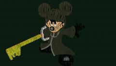 Mickey 358/2 Days - Typography Illustration