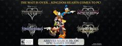 Kingdom Hearts via Epic Games Store social media banner