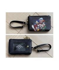 Kingdom Hearts x Zozotown Goods Pass Case Pouch