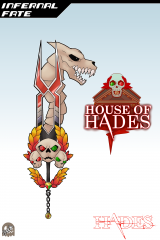 Keyblade Card - Infernal Fate