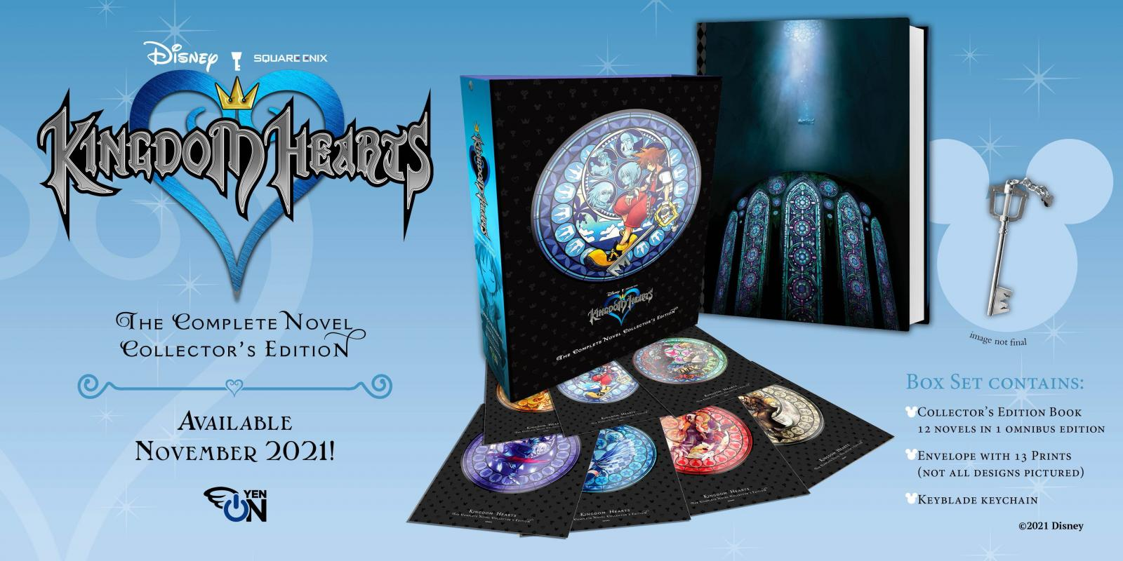Kingdom Hearts: The Complete Novel Collector's Edition