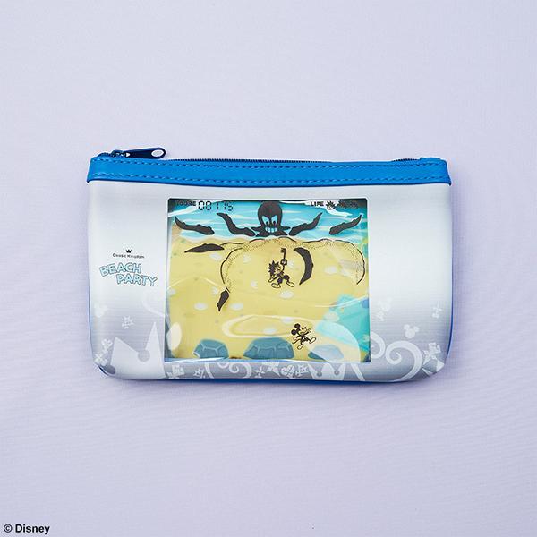Kingdom Hearts III - Beach Party - Classic Kingdom Pouch