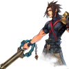 Cloud the Keyblade Master